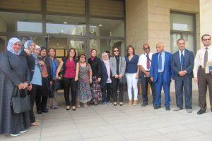 عميد كلية التمريض تشارك في ورشة التقويم الذاتي والاعتماد لبرامج التمريض المنعقدة في لبنان