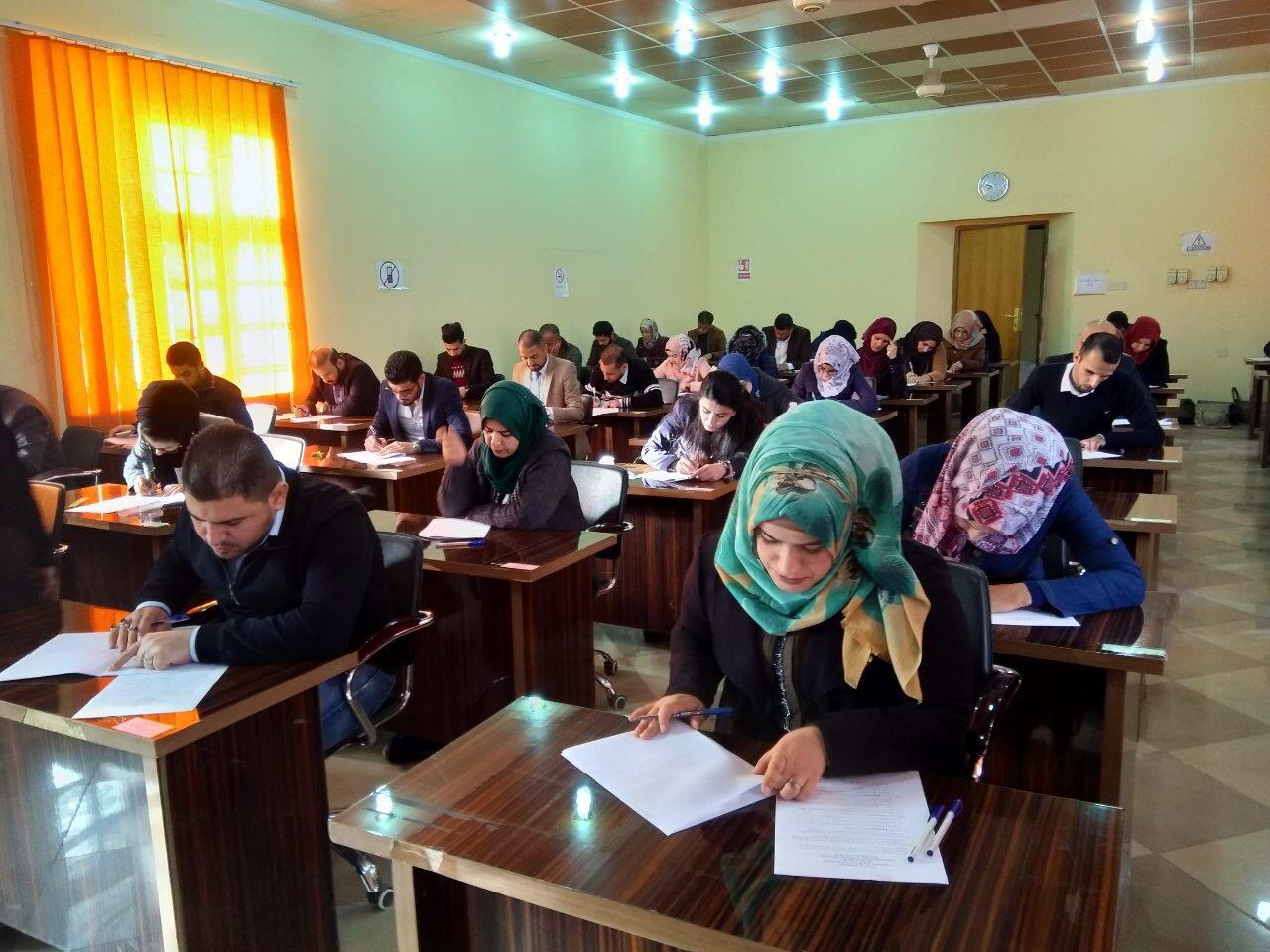 كلية التمريض تباشر بالامتحانات النهائية للفصل الدراسي الاول للعامالدراسي 2018- 2019