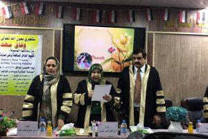 تدريسية في كلية التمريض تشارك في لجنة مناقشة رسالة ماجستير في كلية التمريض جامعة بابل (2)