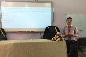 وحدة التعليم المستمر في كلية التمريض تنظم ورشة عمل حول المخطط الامتحاني (1)