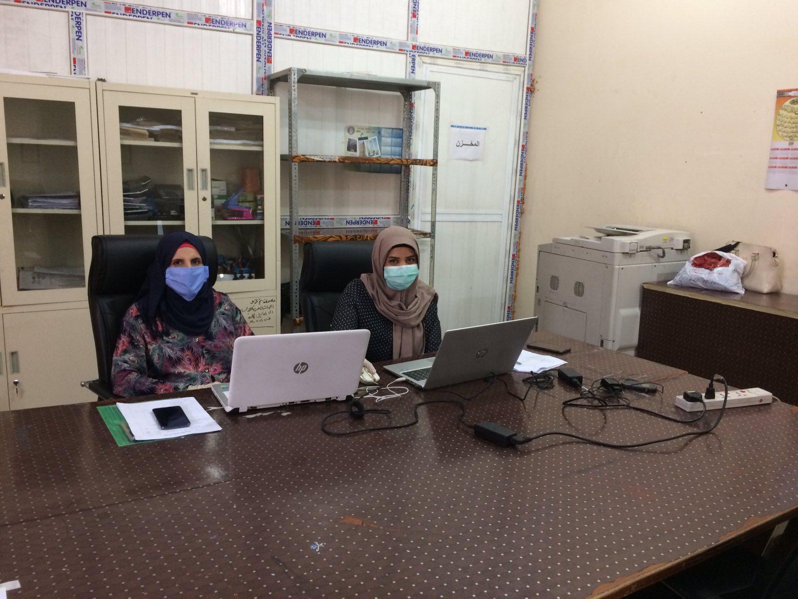 كلية التمريض تباشر بأداء الامتحانات الالكترونية النهائية للدور التكميلي الثاني