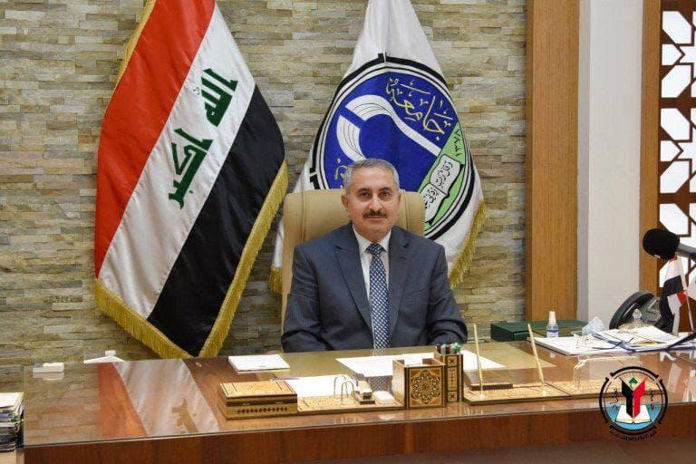 رئيس جامعة بغداد يقدم التهاني والتبريكات للمرأة العراقية المعطاء بمناسبة يوم المرأة العالمي